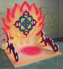 decoration for ganesh chaturthi at home mandap ideas