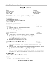 Ba English Sample Resume Bachelor Of Arts Resumes Savebtsaco 14