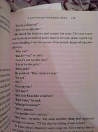 a thousand splendid suns just finished good book  this scene in a thousand splendid suns
