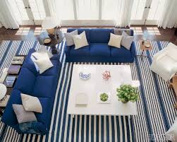 nautical inspired furniture. Designer Victoria Hagan Used Two Sofas To Create A Sectional Effect In Nautical-inspired Nautical Inspired Furniture
