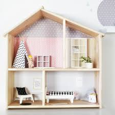 Ikea dolls house furniture Wall Mounted Image Etsy Sticker Dollhouse Dollhouse Wallpaper Flisat Ikea Decal Etsy