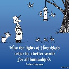the lights of hanukkah print