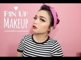 pin up makeup tutorial easy pin up makeup bahasa indonesia
