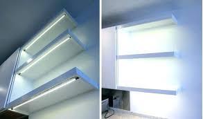 led glass shelves led lights shelf floating shelf with lights floating shelves with led lights under