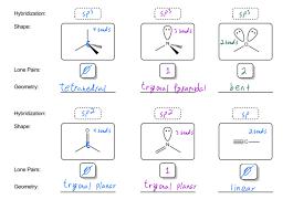 Molecular Geometry Organic Chemistry Video Clutch Prep