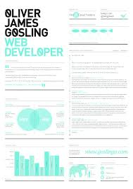 creative work resume design unique cover letters web developer creative work resume design unique cover letters web developer given bar pie chart illustration blue colored