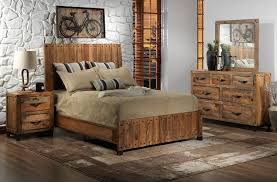 rustic king bedroom set. maya 5-piece queen bedroom set - rustic pine king