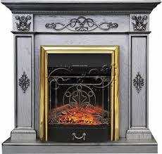<b>Каминокомплект Royal Flame DERBY</b> с очагом Majestic BR old silver
