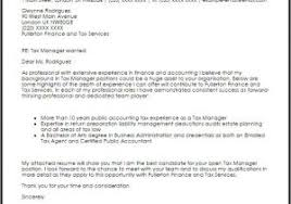 Cover Letter For Tax Preparer Position Cover Letter For Tax Position Sample Cover Letters For