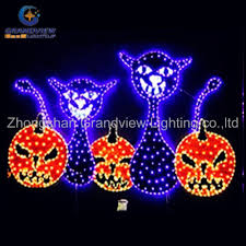 Celebrations Led Rope Light Outdoor Horrible Led Rope Light All Saints Day Decoration Pumpkin And Ghost Light View Halloween Decoration Rope Light Grandview Lightsup Product