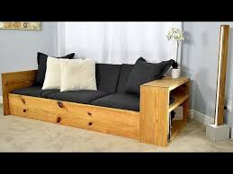 diy sofa bed turn this sofa into a