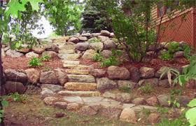 Small Picture Boulder Wall Stone Wall and Landscape Retaining Wall Design
