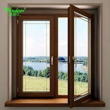 aluminum glass window with interior office door