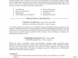 Automotive Technician Resume Resume For Auto Mechanic Thebridgesummit Of Automotive Technician 39