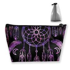 tribal dream catcher indian cosmetic bags portable travel toiletry pouch makeup organizer bag with zipper