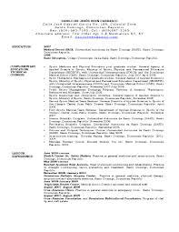 Internal Resumes Cv Resume For Doctors Internal Medicine Doctor Resume Free Resumes