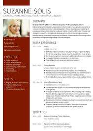 CV sample Suzanne Solis