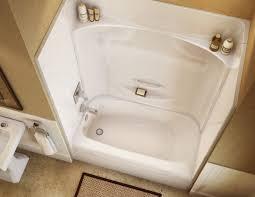 54 inch tub kohler one piece bathtub shower combo combination home