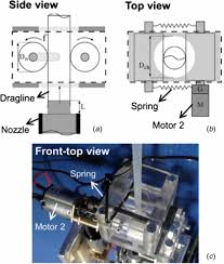 a dragline forming mobile robot inspired by spiders iopscience figure 2