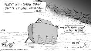 that time tony auth illustrated my essay and nailed it newsworks l tony auth climate change global warming extinction