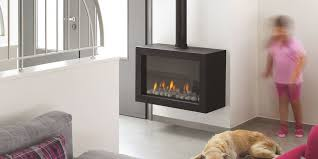 gas heating stove standalone 75