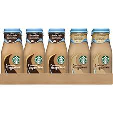 starbucks bottled frappuccino flavors. Exellent Starbucks Starbucks Frappuccino Mocha Light And Vanilla Flavors Variety Pack  95 Ounce Glass Bottles Intended Bottled Frappuccino H