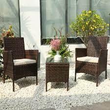 3 piece outdoor patio furniture set