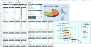 Budget Samples Household Sample Household Budget Spreadsheet Luxury Monthly Household