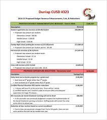 Budget Proposal Templates 18 Free Word Pdf Format Download