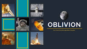 Space Google Slides Theme Oblivion Free Space Themed Google Slides Powerpoint Template