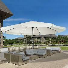 42 garden parasol large patio umbrella