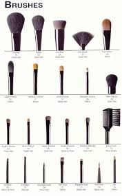 a plete picture guide to beauty make up brushes diy