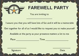 Gettogether Invitations Farewell Party Invitation Template 23 Custom Party Invitation