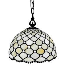 Light Style Am Amora Lighting 1 Light Tiffany Style Hanging Pendant