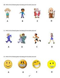 nyc gifted and talented simulated practice test questions k and 1st grade