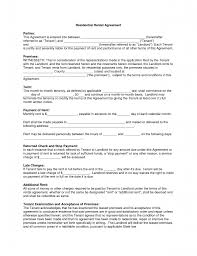 Free Printable Leasent Forms Template Commercial Rental Form Word