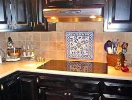 Blue And White Decorative Tiles Decorative Ceramic Backsplash Tiles Tuscan Kitchen Photo In Seattle 67