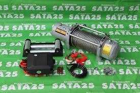 <b>Лебедка</b> Electric Winch 12v.12000LBS 2121 - Автоаксессуары во ...
