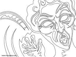 Weeping Angel Coloring Page For Youtube