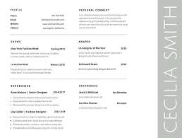Best Fonts To Use For Resume Good Font For A Resume What Is The