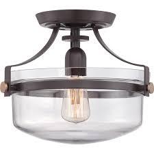 laurel foundry modern farmhouse celia 1 light semi flush mount reviews wayfair ceiling fixturesbedroom