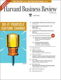 Home Depots Blueprint For Culture Change