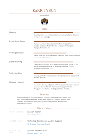 Example Of Teacher Resume Beauteous General Science Teacher R Spanish Teacher Resume Examples On Job