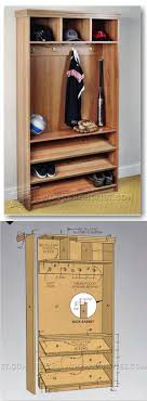 small hall furniture. hall tree plans furniture and projects woodarchivistcom small