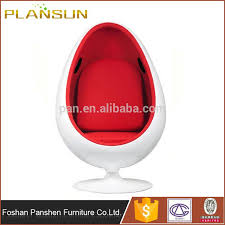 high quality modern replica fiberglass egg pod chair with speakers