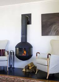 freestanding wood burning stoves with versatile designs for amazing suspended fireplace
