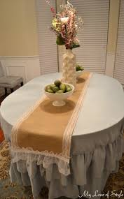 awesome lace table runners design for your furniture ideas diy lace table runners with white