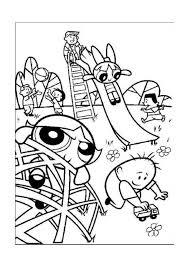 The Powerpuff Girls Kleurplaten Voor Kinderen Kleurplaat En