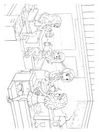 Lego Friend Coloring Pages Friends Coloring Pages Printable Page