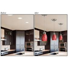 Home Depot Recessed Light Converter Westinghouse Recessed Light Converter For Pendant Or Light